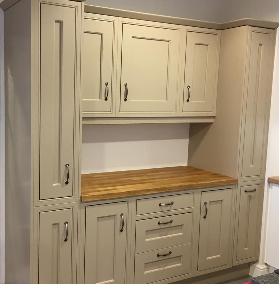 New kitchen in our Shrewsbury showroom  Abbey Kitchens