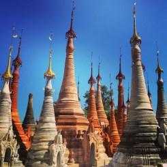 Shwe Indein Pagoda, Inle Lake