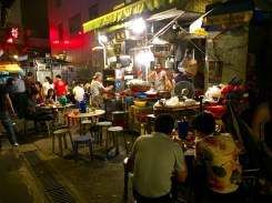 Dai pai dong stall, Hong Kong Island