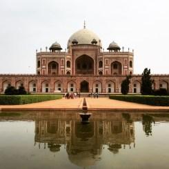 Humayun's Tomb, one of the inspirations for the Taj Mahal, Delhi