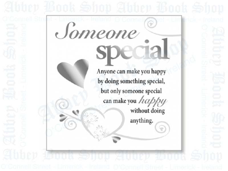 Block Art Wood Plaque – Someone Special