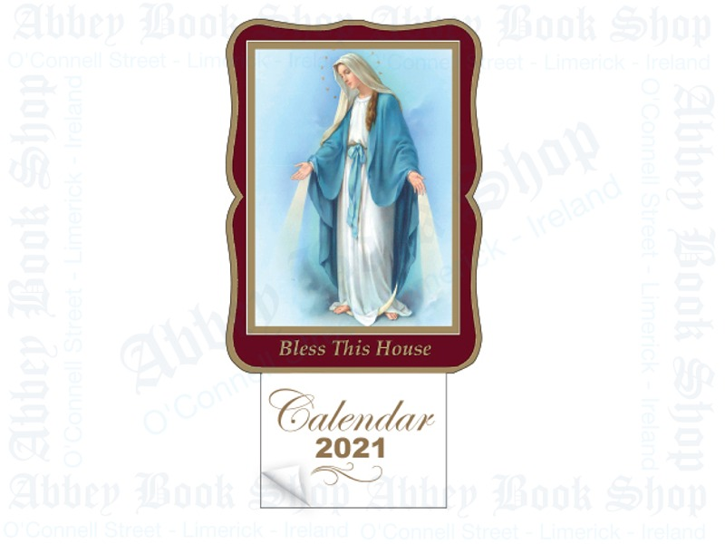 Calendar 2021 (Our Lady-Miraculous)