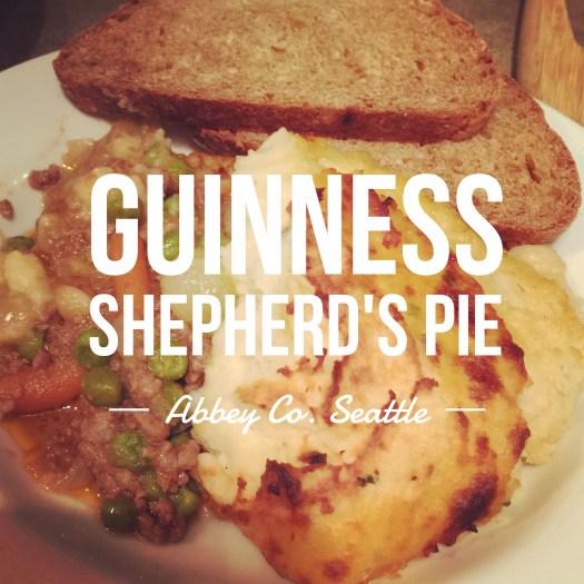 Guinness Shepherds Pie Recipe