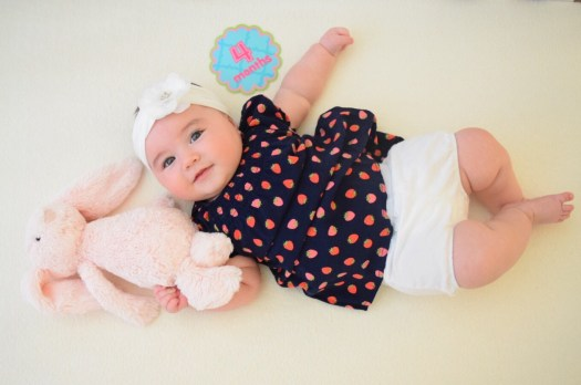 Baby 4 month milestone pictures how to do yourself