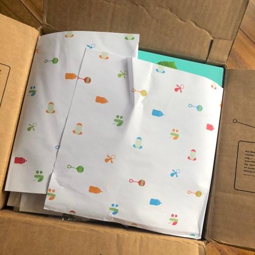 Amazon baby registry unboxing 1