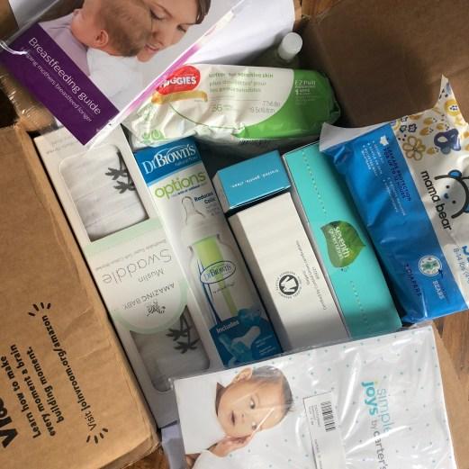 Amazon baby registry unboxing 3