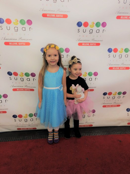 Sugar Factory Bellevue Kids Red Carpet