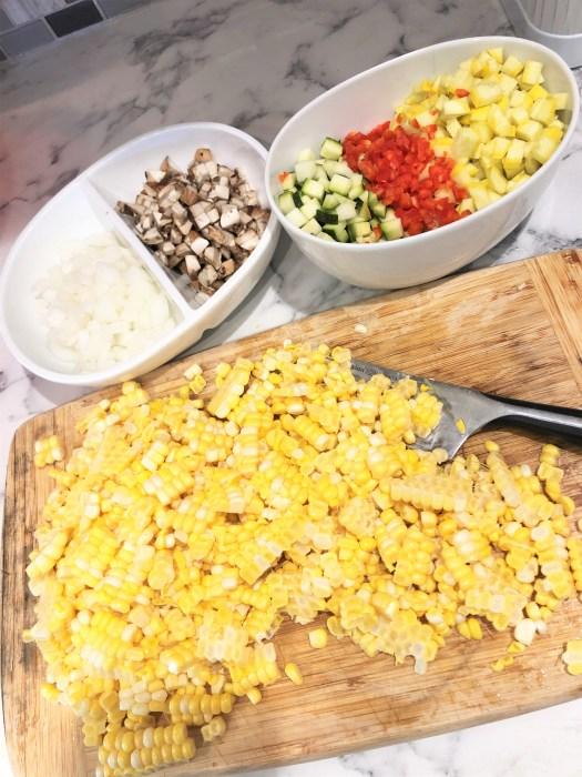 Summer Vegetable Corn Chowder Recipe 5