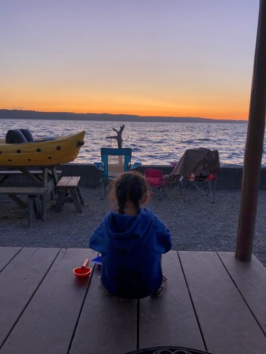 Sunset View Cama Beach Cabins 1