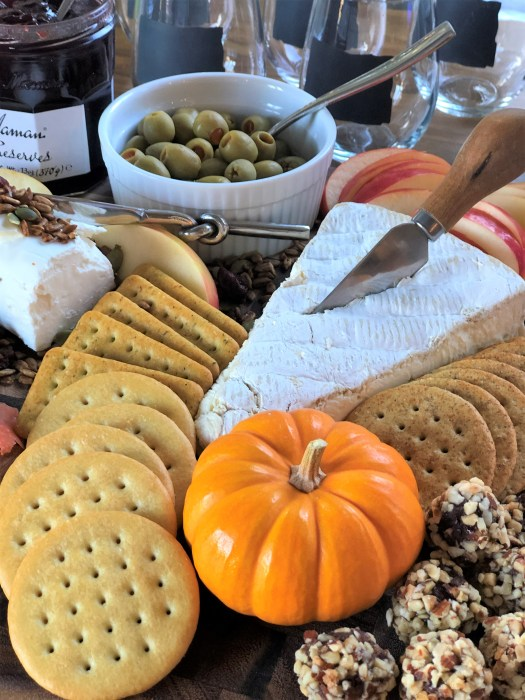 Fall charcuterie board idea 6