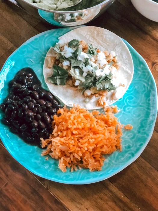 Vegetarian cauliflower tacos