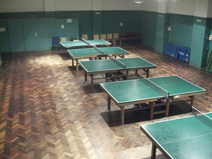 Table Tennis Hall