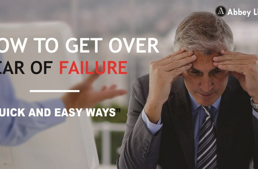 How to get over Fear of Failure Quick and Easy way, here is how I did it!