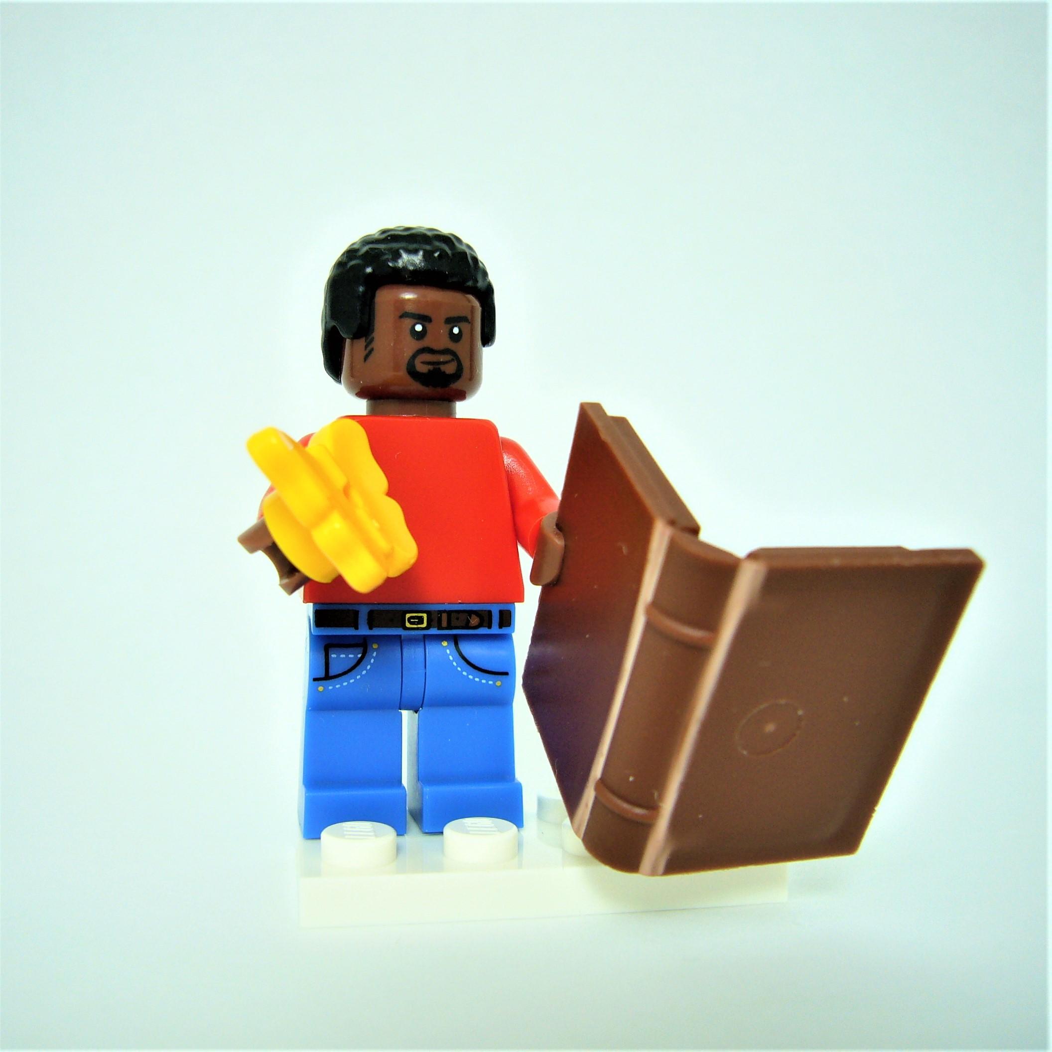 Brick Magnets set of 6 by AbbieDabbles using genuine LEGO® bricks