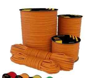 bobina paracord arancione