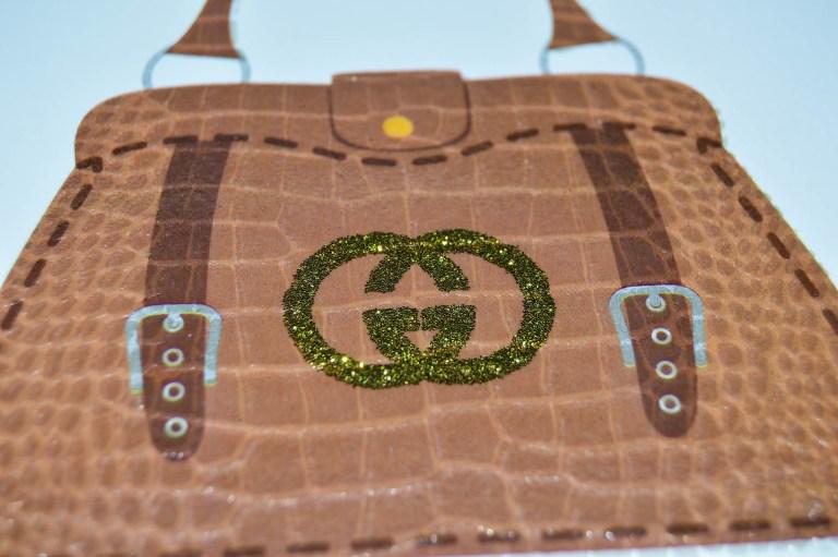glitter gucci bag