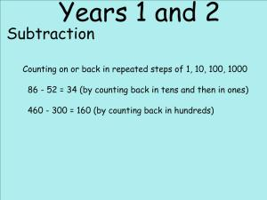 Abbots Langley School Maths Sessions for Parents - Nursery, Reception and KS1_18