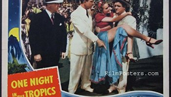 One Night in the Tropics - color lobby card - Abbott and Costello's first film