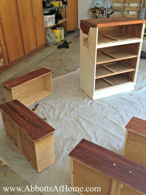 How To Cut A Dresser In Half To Make 2 New Pieces Abbotts At Home
