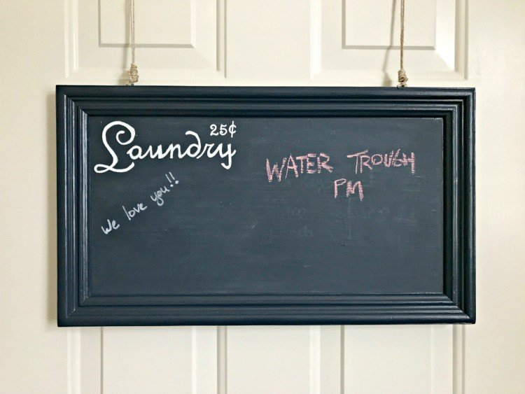 DIY Latex Chalkboard Paint - tips and tricks