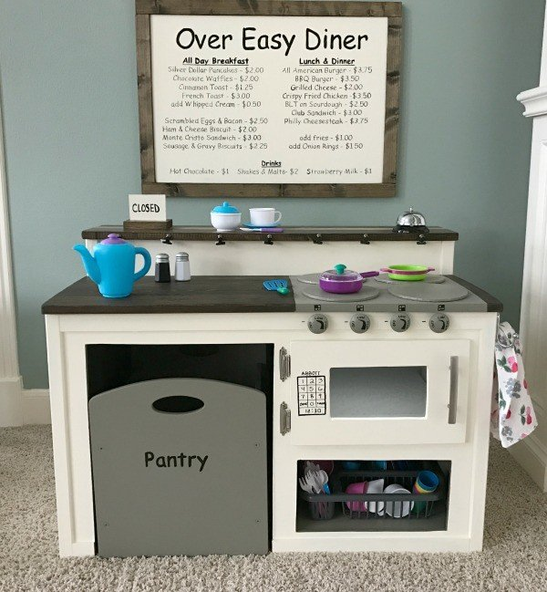 The DIY Kids Kitchen I had to build