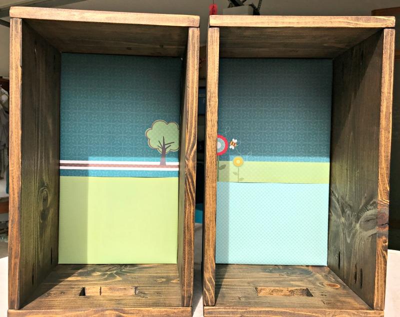 DIY wood bin using a Kreg Jig R3