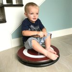 Make this Super Easy DIY Kids Sit & Spin Toy