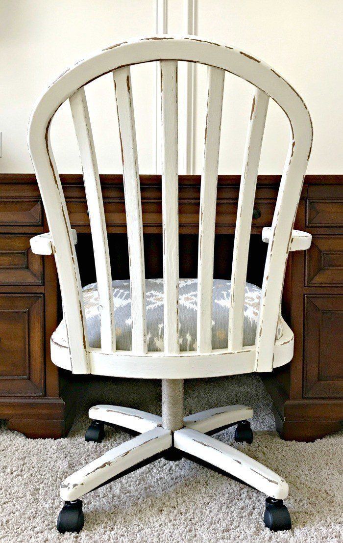 fixing wooden chairs how to make adirondack beautiful office chair makeover and roller wheels abbotts