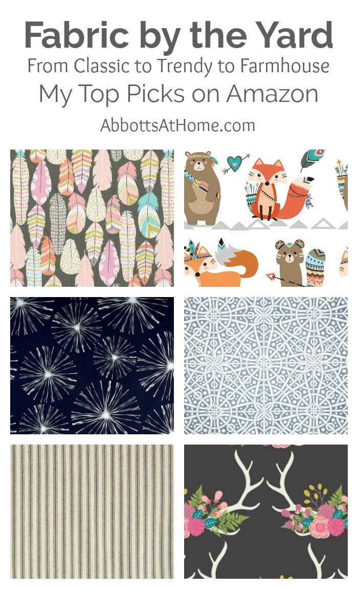 My Picks for Best Fabric By the Yard on Amazon