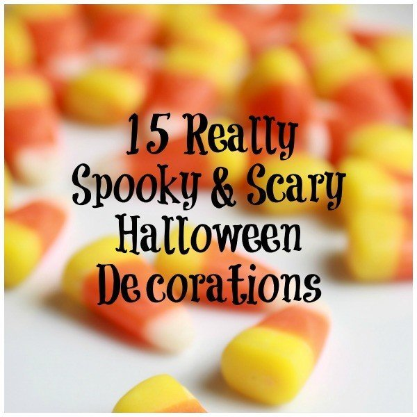 Really Spooky & Scary Halloween Decorations, 2017