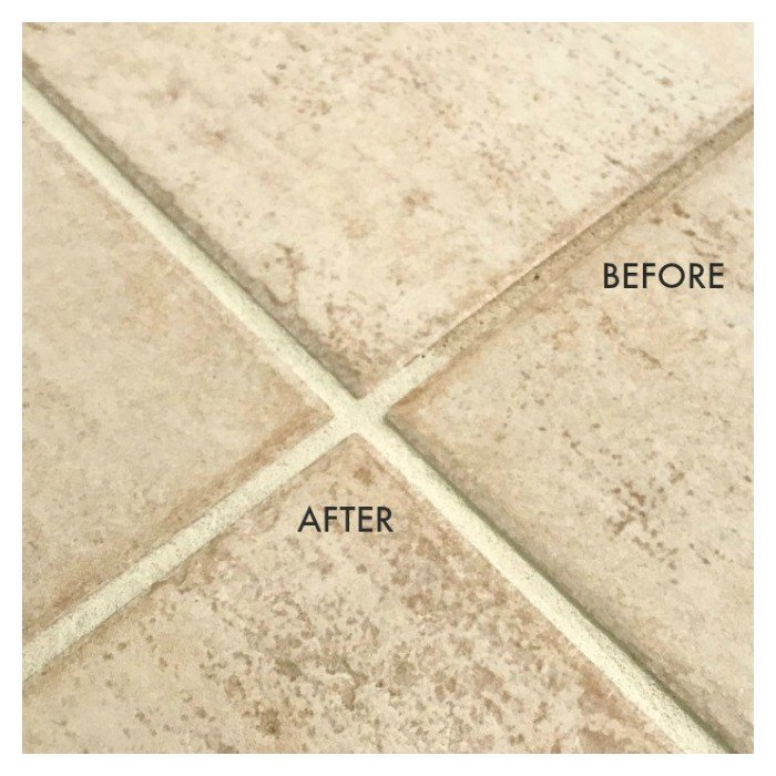 How to Change Grout Color, the easy way!