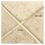 You can restore that grout color without scrubbing. It's really quick and easy. You can even switch to a new grout color, with Grout Renew. My how-to video will show you how easy it is to update your grout color.