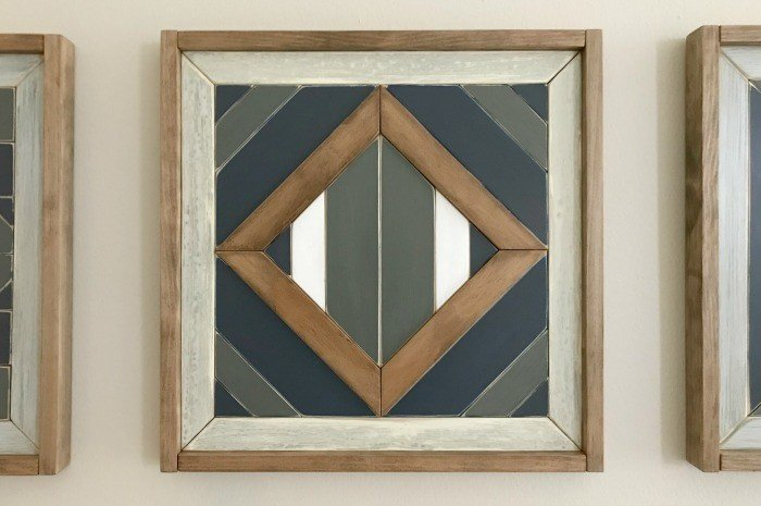 DIY Scrap Wood Geometric Art Steps, with How-To Video!