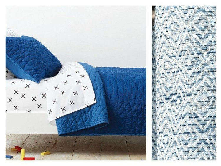 It's time to update our boy's room again. Here's a peek at our 2018 Boys Room Ideas. This bedding and curtain are from Target.