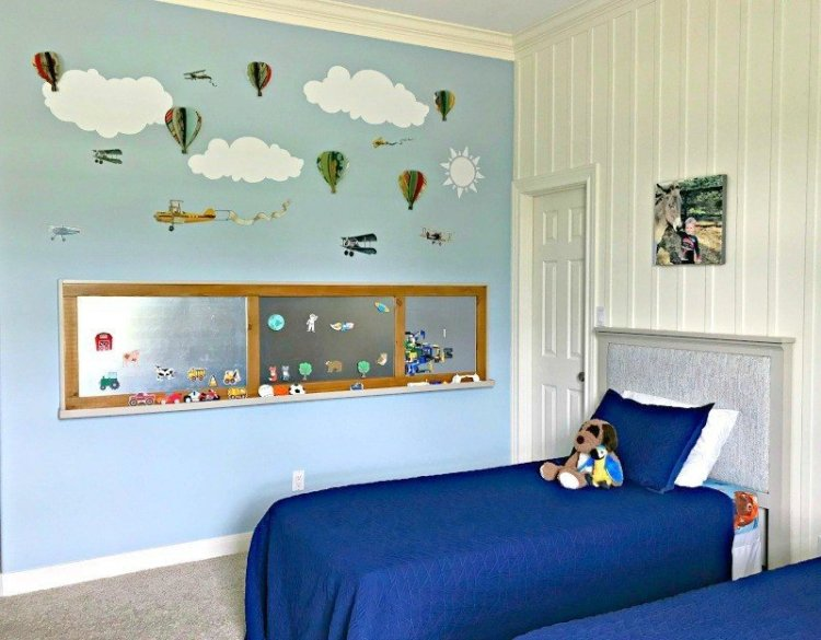 Room reveal fun boys bedroom ideas and diys abbotts at home its time for the boys bedroom makeover reveal guys and im so solutioingenieria Image collections