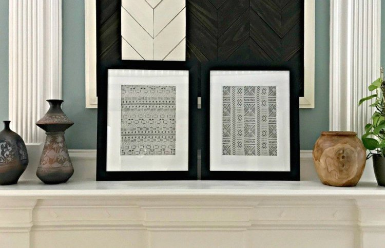 DIY Pottery Barn Knock Off Textile Art for between $10 and $20 each. This DIY saved me over $300, guys! And you get to pick the fabric color and style that matches your room. This is a super easy DIY Wall Decor Idea.