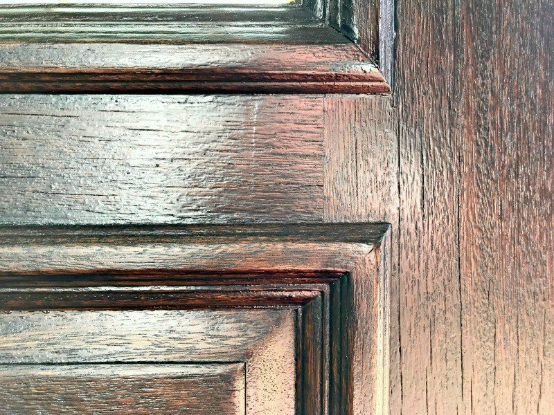 How To Restain A Door With A Quick U0026 Easy DIY
