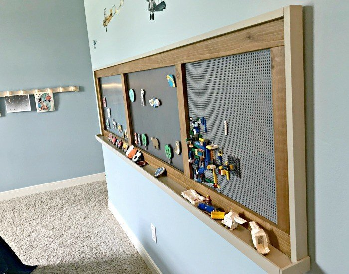 Diy Modern Farmhouse Kids Activity Wall Board Abbotts At