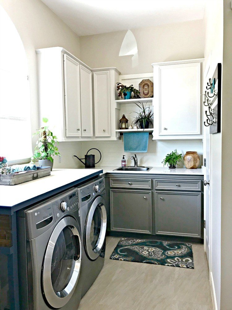 Before & After DIY Laundry Room Makeover Ideas