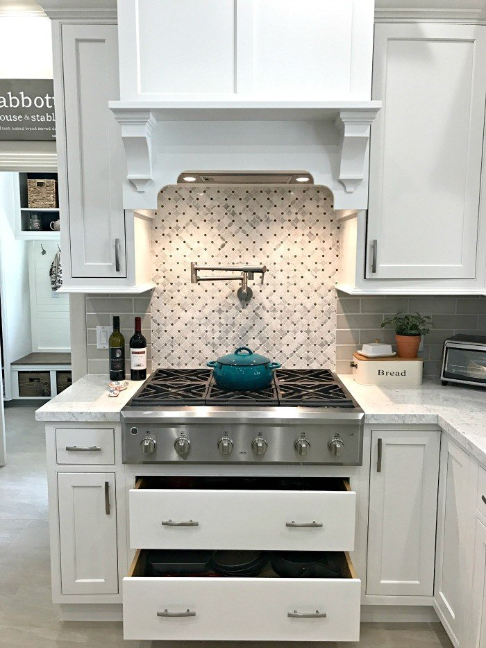 Before planning that kitchen or bath remodel, check out my planning tips. These are the items people forget to think about until it's too late. White Modern Farmhouse Kitchen Makeover