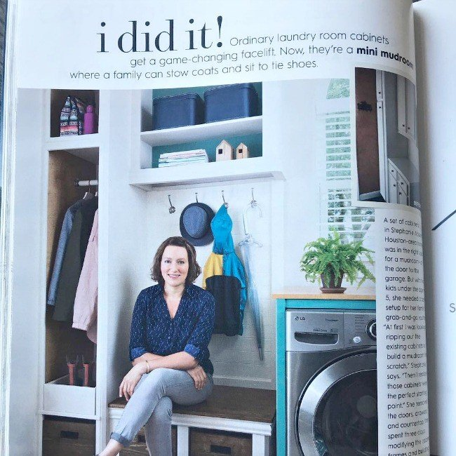 The Behind the Scenes details behind this DIY bloggers BHG I Did It feature in 2018. #AbbottsAtHome #BHG #BetterHomesandGardens #BHGIDidIt