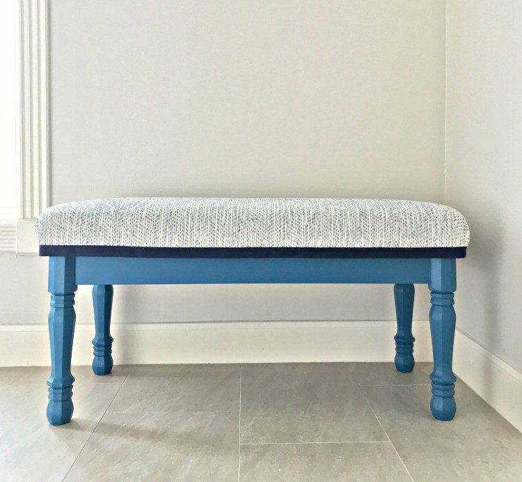 Easy Modern Farmhouse DIY Entryway Bench - Abbotts At Home