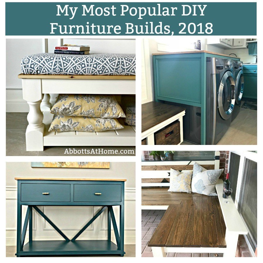 5 Most Popular DIY Furniture Builds of 2018
