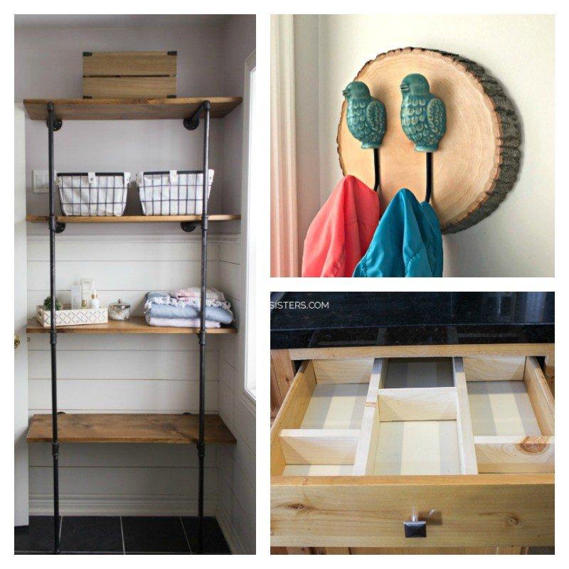 12 of the Best DIY Bathroom Organization Ideas in 2019