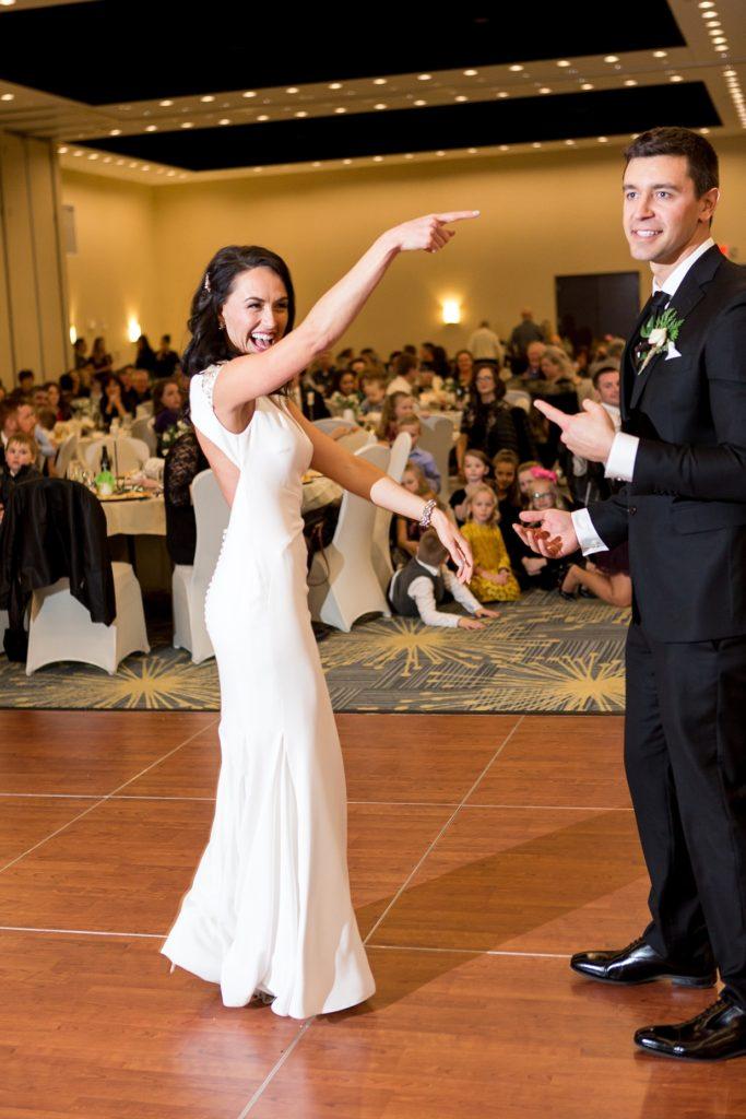Nativity Catholic Hilton Garden Inn Fargo Wedding Photos