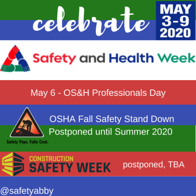 NAOSH week 2020