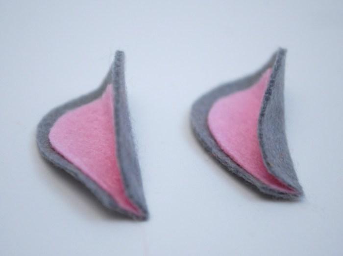 Folded Mouse Ears