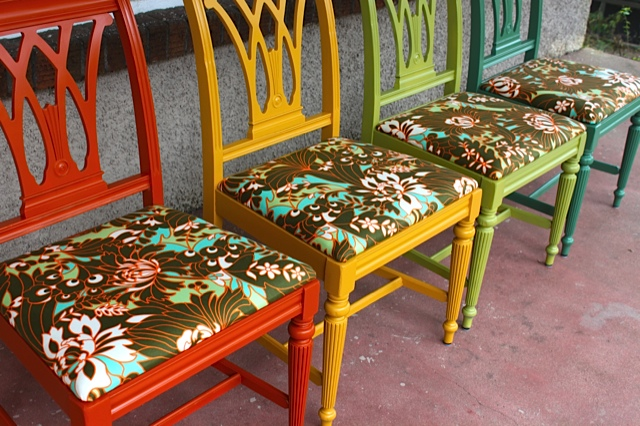 Chairs by alison glass