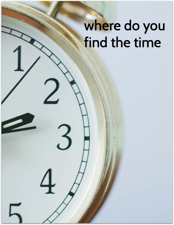 where do you find the time