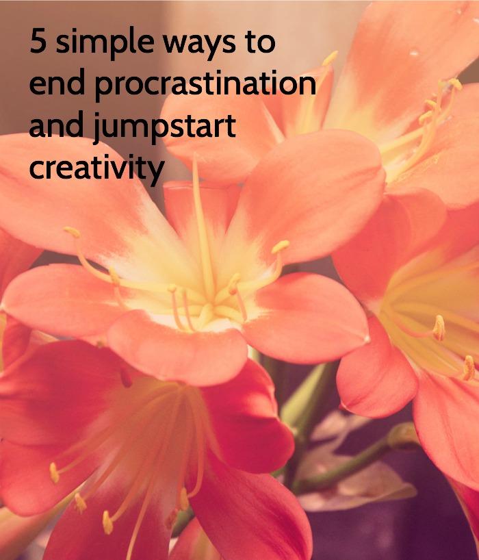 jumpstart creativity
